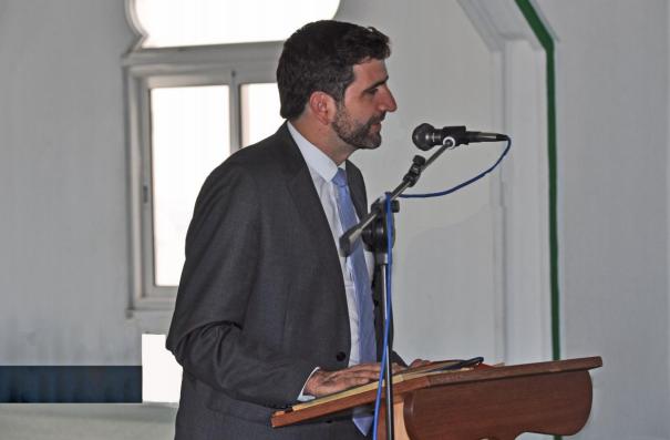 Visite de Pascal Courtade - Chef du bureau central des Cultes au Ministère de l'intérieur