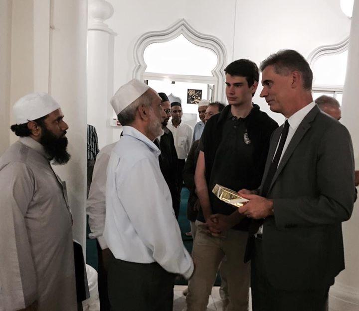 Rupture du jeûne de M. le Préfet durant le mois de Ramadan 2015