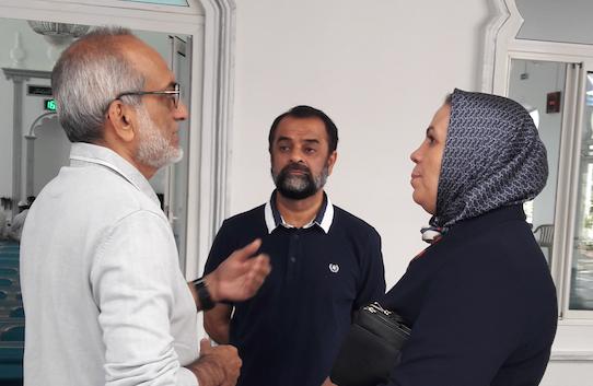 Visite de Latifa Ibn Ziaten