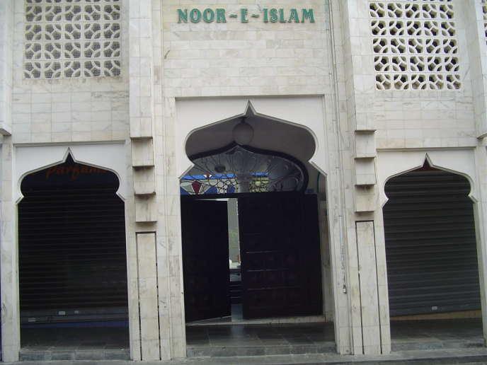 Entree mosquée